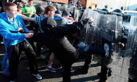 Ardoyne in north Belfast