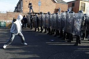 Belfast riots, Ardoyne: Belfast riots, Ardoyne
