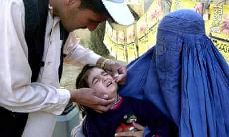 polio vaccine afghanistan