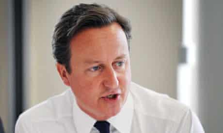 David Cameron in Wales