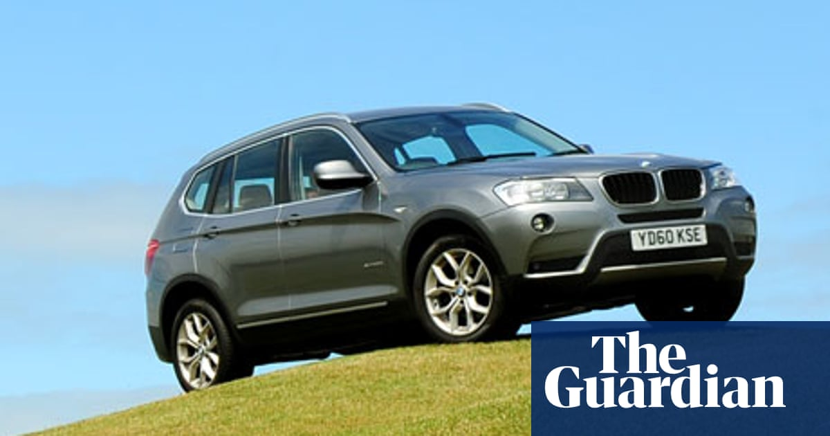On The Road Bmw X3 2 0d Technology The Guardian