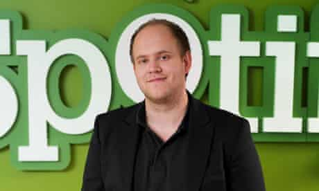 Daniel Ek, co-founder and CEO of Spotify