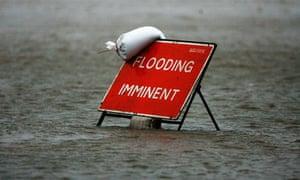 Flooding risk to UK