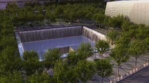 September 11 Memorial: 9/11 memorial pool