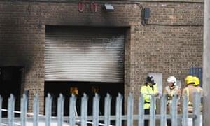 Fatal explosion in Boston, Lincolnshire