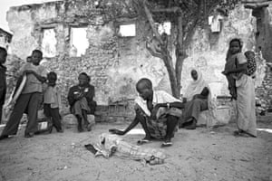 Somalia by Robin Hammond: A feeding centre in Mogadishu for refugees streaming in to escape drought