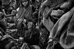 Somalia by Robin Hammond: A feeding centre in Mogadishu for refugees streaming into the city