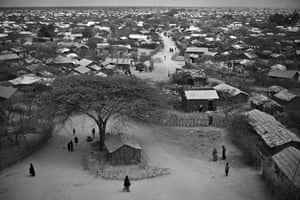 Somalia by Robin Hammond: Thousands of families have trekked for days to the Dadaab refugee camp
