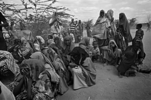Somalia by Robin Hammond: Families in desperate need of food and water at the Dadaab refugee camp