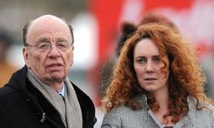 Rebekah Brooks and Rupert Murdoch, 2010