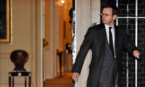 Andy Coulson departs 10 Downing Street