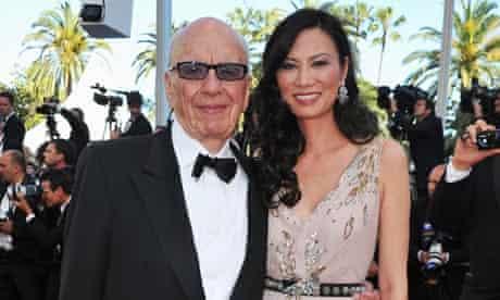 Rupert and Wedndi Murdoch