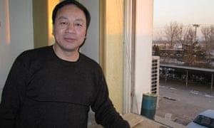 Wang Keqin at his office in Beijing