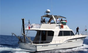 The Dignite al-Karama was the last boat from the aborted Gaza aid flotilla