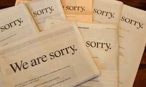 News Corp apology