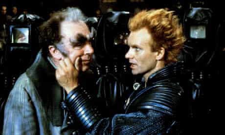 Freddie Jones and Sting in the film adaptation of Dune