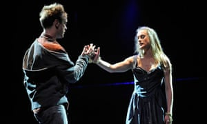 """Royal Shakespeare Company's production of """"Romeo and Juliet"""" at the Park Ave Armory, New York"""