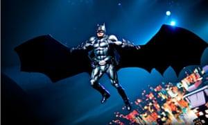 batman manchester evening news arena