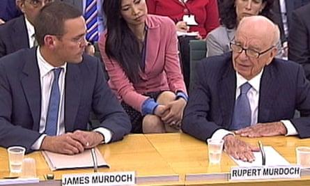 murdochs parliamentary hearing