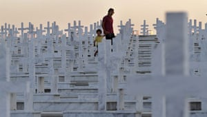 24 hours in pictures: Tymvos Macedonitissas military cemetery
