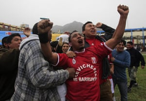 24 hours in pictures: Penitentiary Copa America football tournament