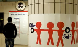 Michael Landy's Acts of Kindness hits the Central line