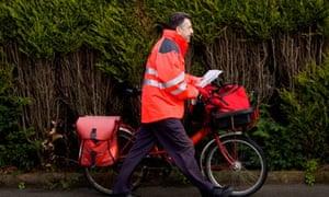 royal mail postman bike