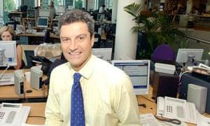 Gavin Esler of BBC2's Newsnight