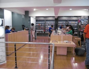 One of three fake Apple stores in Kunming, China