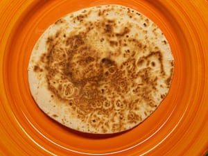 Religious Faces: Jesus sighting in a tortilla