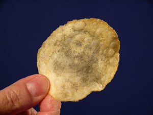 Religious Faces: Jesus sighting in a potato chip