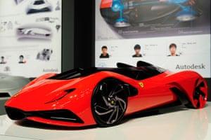 "Ferrari design contest: The Ferrari ""Eternity"" design winner, Ferrari world design contest"