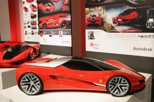 Ferrari design contest: Second place winner at Ferrari world design contest