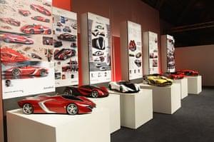 Ferrari design contest: Display of designs at the Ferrari World Design Contest