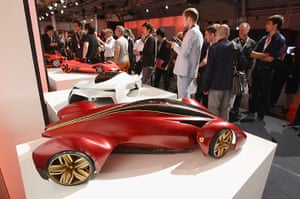 Ferrari design contest: Royal College of Art, London design at the Ferrari World Design Contest