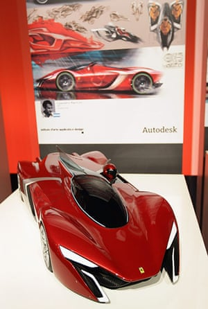 Ferrari design contest: A design from IAAD at Ferrari World Design Contest