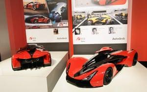 Ferrari design contest: A design from IED at Ferrari World Design Contest