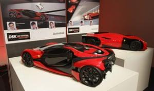 Ferrari design contest: DSK International Design School design at Ferrari World Design Contest