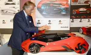 Ferrari design contest: Luca Cordero Di Montezemolo attends the Ferrari World Design Contest