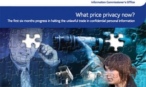 The 2006 report What price privacy now?