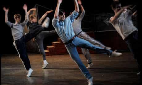 dancer rehearsals