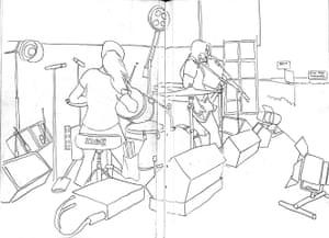 Artist & Repertoire: The White Stripes at Reading festival in 2004