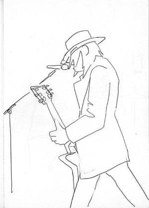 Artist & Repertoire: Jack White of the White Stripes in Gdansk in 2005.