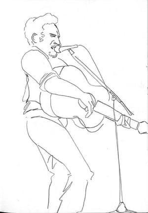 Artist & Repertoire: Bruce Springsteen at the Birmingham NEC in 2006.