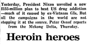 Nixon, war on drugs