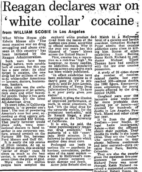 forty years since nixon s war on drugs from the guardian  1971 forty years since nixon s war on drugs from the guardian the guardian