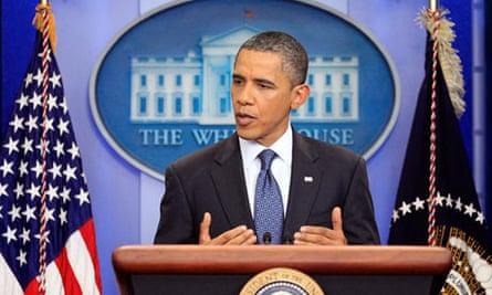 Barack Obama statement on debt ceiling talks