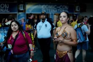 Comic-Con: Honor Hererra as Princess Leia