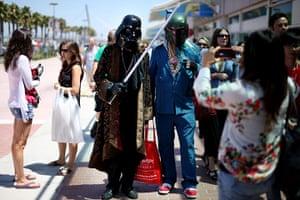 Comic-Con: Darth and Boba