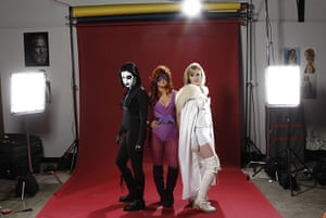 Comic-Con: Domino, Medusa, and Emma Frost